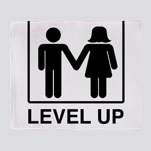 Level Up Throw Blanket