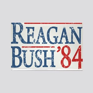 reagan bush 84 t shirt Magnets