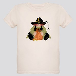 Spider Witch Organic Kids T-Shirt