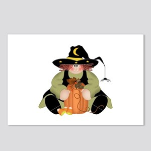 Spider Witch Postcards (Package of 8)