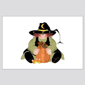 Spider Witch Large Poster