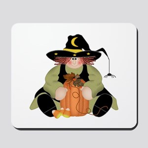 Spider Witch Mousepad
