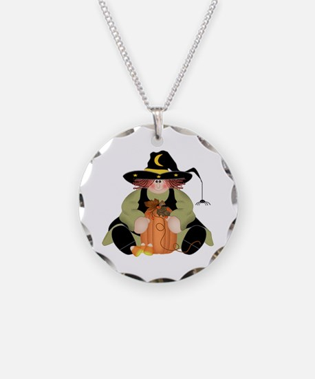 Spider Witch Necklace