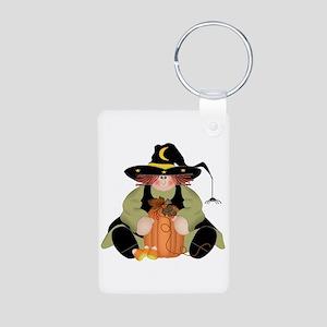 Spider Witch Aluminum Photo Keychain