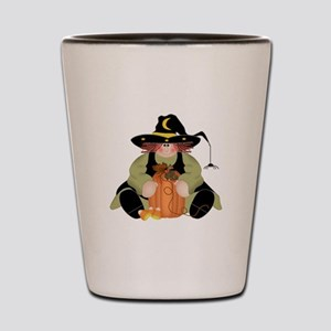 Spider Witch Shot Glass