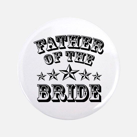 "Cool Father Of The Bride 3.5"" Button"