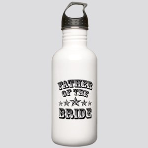 Cool Father Of The Bride Water Bottle