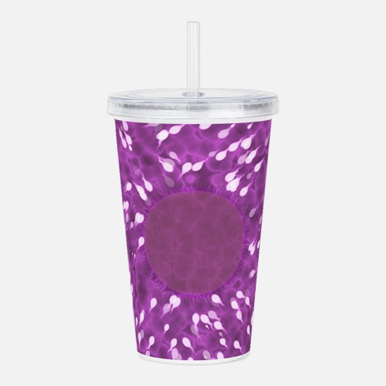 Little Swimmers - Pink Acrylic Double-wall Tumbler
