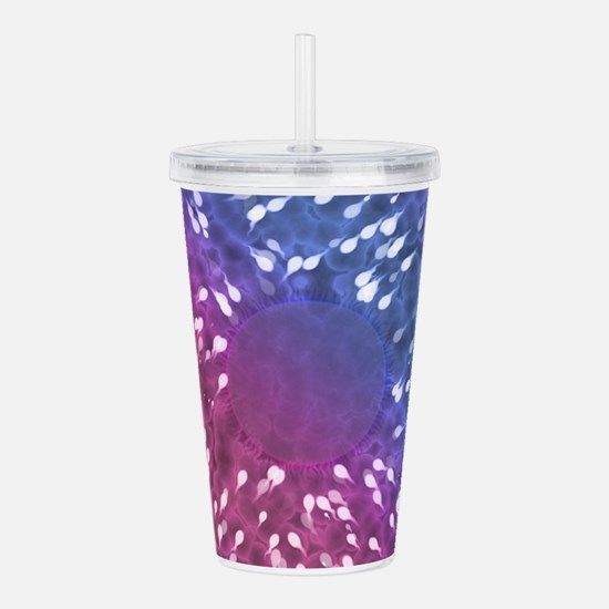 Little Swimmers - Blue Acrylic Double-wall Tumbler