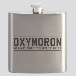 Oxymoron astronaut Flask
