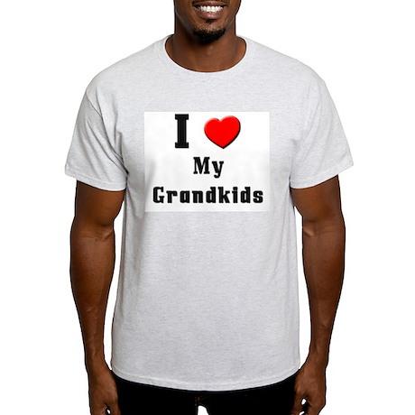 I Love Grandkids Light T-Shirt