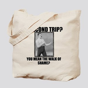 Overly Manly Man Grocery Bag Tote Bag