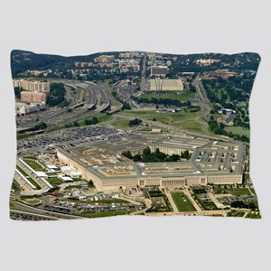 Aerial of the Pentagon Pillow Case