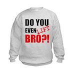 DO YOU EVEN LIFT BRO?! Sweatshirt