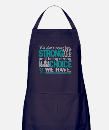 Peritoneal Cancer HowStrongWeAre Apron (dark)