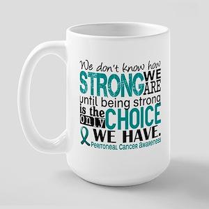 Peritoneal Cancer HowStrongWeAre Large Mug