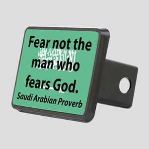 Fear Not The Man Hitch Cover