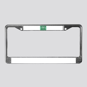 Fear Not The Man License Plate Frame