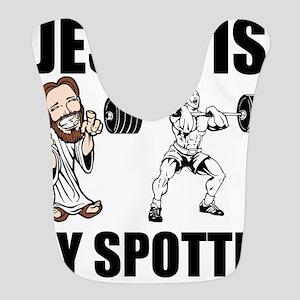 Jesus Is My Spotter Bib
