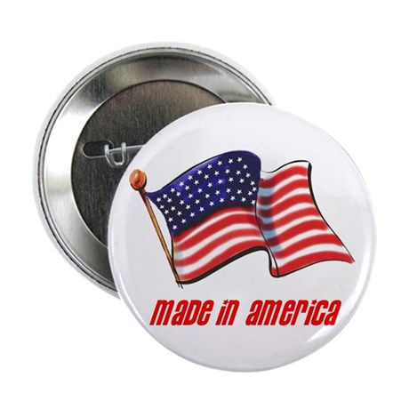 """MADE IN AMERICA 2.25"""" Button (100 pack)"""