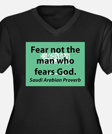 Fear Not The Man Plus Size T-Shirt