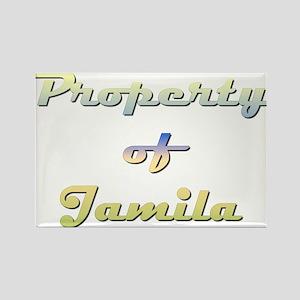 Property Of Jamila Female Magnets