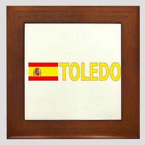 Toledo, Spain Framed Tile
