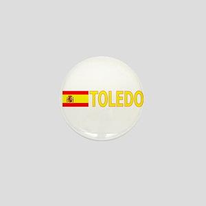 Toledo, Spain Mini Button