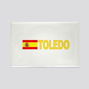 Toledo, Spain Rectangle Magnet
