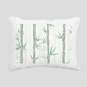 Bamboo Rectangular Canvas Pillow