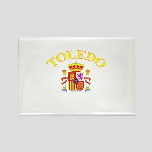 Toledo, Spain Rectangle Magnet