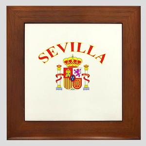 Sevilla, Espana Framed Tile