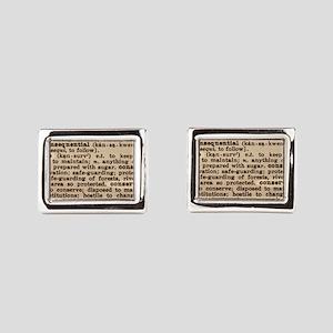 3239291 Rectangular Cufflinks