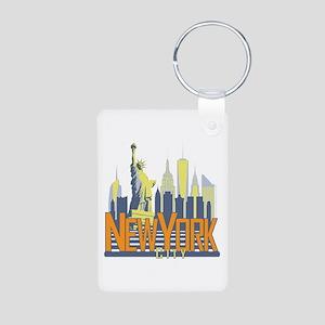 NYC Skyline Bold Keychains