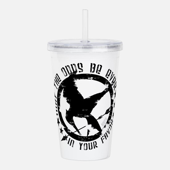 May The Odds Acrylic Double-wall Tumbler