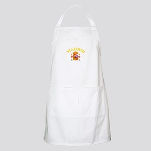 Madrid, Spain BBQ Apron