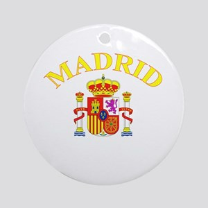 Madrid, Spain Ornament (Round)