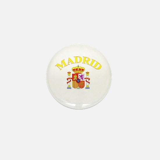 Madrid, Spain Mini Button