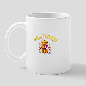 Madrid, Spain Mug