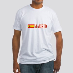 Madrid, Spain Fitted T-Shirt
