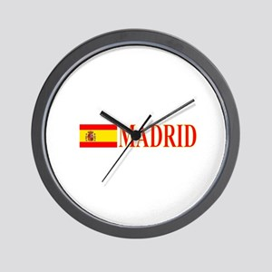 Madrid, Spain Wall Clock