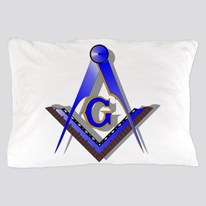 Masonic Square and Compass Pillow Case