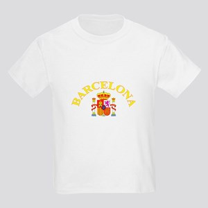Barcelona, Spain Kids Light T-Shirt