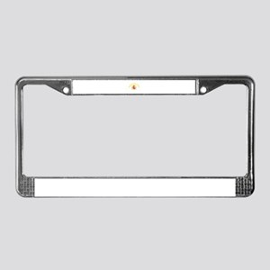 Barcelona, Spain License Plate Frame
