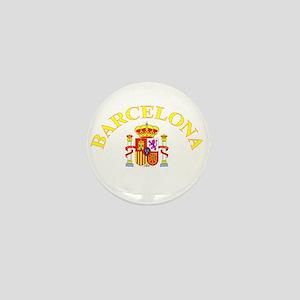 Barcelona, Spain Mini Button