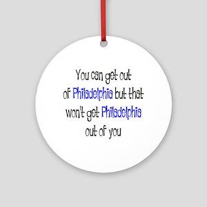 philadelphia out Ornament (Round)