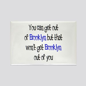 brooklyn out Rectangle Magnet
