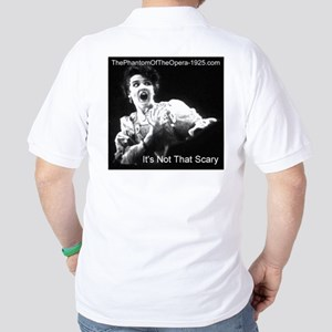 """It's Not That Scary"" Golf Shirt"