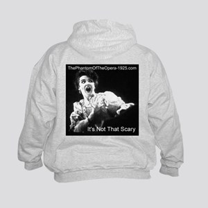 """""""It's Not That Scary"""" Kids Hoodie"""
