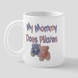 My Mommy Does Pilates Mug